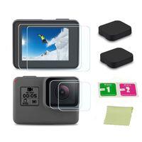 Copriobiettivo e protezione schermo GoPro Hero5 Hero6 Hero7 Black