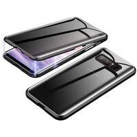 Custodia magnetica per Samsung Galaxy S10 con protezione per lo scherm