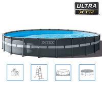 Intex Ultra XTR Frame Set Piscina Rotondo 732x132 cm 26340GN