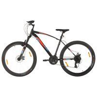 "vidaXL Mountain Bike 21 Speed 29"" Ruote 48 cm Telaio Nero"