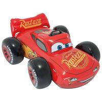 Intex Auto Galleggiante Cavalcabile Cars Ride-on Rosso 84x109x41 cm