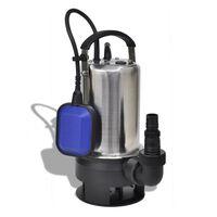 vidaXL Pompa Sommersa per Acque Reflue 750 W 12500 L/h