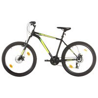 "vidaXL Mountain Bike 21 Speed 27,5"" Ruote 50 cm Nero"