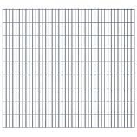 vidaXL 2D Pannelli Recinzione Giardino 2,008x1,83m 22m (Totale) Grigio