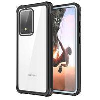 Cover Mobile Antiurto Per Samsung Galaxy S20 Ultra - Nera E Grigia