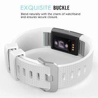Braccialetto per Fitbit Charge 2 - Bianco - L