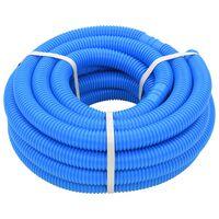 vidaXL Tubo Flessibile per Piscina 32 mm 12,1 m Blu