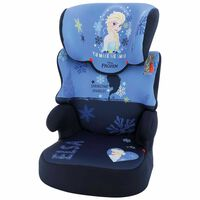 Disney Seggiolino Auto per Bambini Befix Frozen 2 Gruppo 2+3 Blu