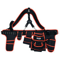 YATO Tool Belt with Suspenders Polyester 128cm