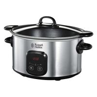 Russell Hobbs Pentola Slow Cooker MaxiCook 6 L Argento 170-240 W