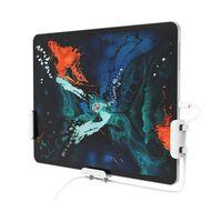 Supporto da parete universale per cellulare / tablet bianco 3 pz.