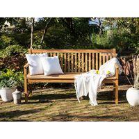 Panchina da giardino in legno di acacia 160 cm VARA