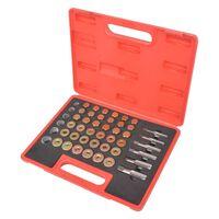 vidaXL Kit di Riparazione per Filetti del Tappo di Scarico dell'Olio