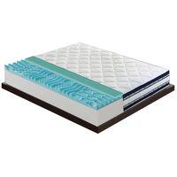 Materasso 90x190 Con 6,5 Cm Di Memory – 1cm Gel Thermo Alto  26,5 Cm