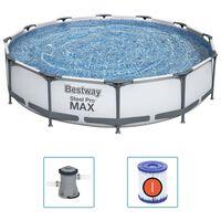 Bestway Set Piscina Steel Pro MAX 366x76 cm
