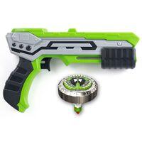 Silverlit Blaster Single Shot con Spinner Mad Thunder Verde