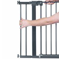Safety 1st Estensione per Cancelletto 14 cm Metallo Nero 2429057000