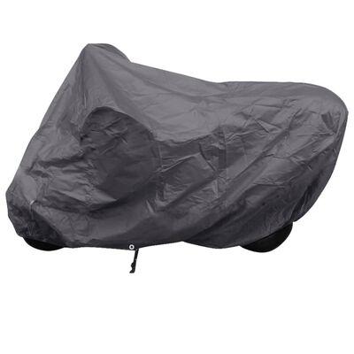Telo copertura per motociclo in poliestere grigio