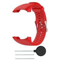 Cinturino per orologio sportivo Polar M400 / M430 - rosso