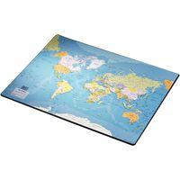 Esselte Sottomano da Scrivania Europost Mappa del Mondo 40x53 cm