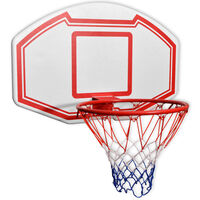 vidaXL 3 Pz Set Canestro da Basket da Parete 90x60 cm