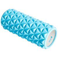 Pure2Improve Rullo per Yoga 33x14 cm Blu e Bianco