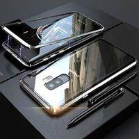 Custodia magnetica per Samsung Galaxy S9 Plus con protezione per lo sc
