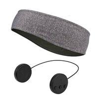 Cerchietto con cuffie e microfono Bluetooth - grigio
