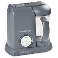 Beaba 4-in-1 Robot Alimenti Bambini Babycook Solo 1100 ml Grigio Scuro