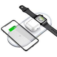 Caricabatterie rapido wireless per telefoni cellulari e Apple Watch