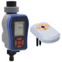 vidaXL Timer Digitale Irrigazione a Singola Uscita e Sensore Umidità