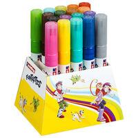 edding Penna con Punta a Fibra Larga Funtastics 18 pz Multicolore 14
