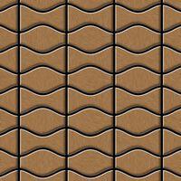 Alloy Kismet & Karma-ti-ab Mosaico Metallo Solido Titanio Rame