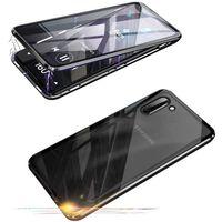 Cover magnetica per cellulare su entrambi i lati Samsung Galaxy Note 1