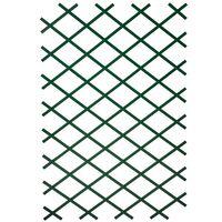 Nature Pergolato da Giardino 100x200 cm PVC Verde 6040704