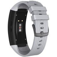 Braccialetto Samsung Gear Fit 2 / Gear Fit2 Pro Silicone Grigio - S