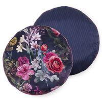 Descanso Cuscino Decorativo SIMONE Rotondo 55x55 cm Multicolore