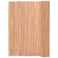 vidaXL Recinzione in Bambù 125x400 cm