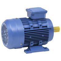 vidaXL Motore Elettrico Trifase in Alluminio 2,2kW/3HP 2 Poli 2840 RPM