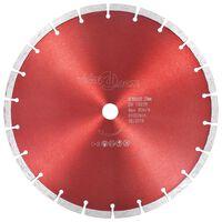 vidaXL Disco da Taglio Diamantato in Acciaio 300 mm