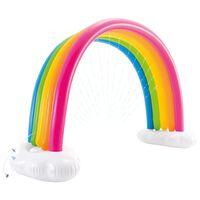 Intex Spruzzatore Gonfiabile Arcobaleno Multicolore 300x109x180 cm