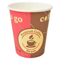 vidaXL Bicchieri da Caffè Monouso in Carta 1000 pz 240 ml (8 oz)