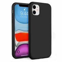 Custodia In Silicone Liquido Per Iphone 11 Nera