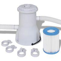 Filtro con pompa per piscina 2000 L / h