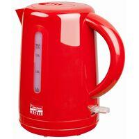 Bestron Bollitore Elettrico Senza Fili 1,7 L Hot Red 2200 W AWK300HR