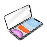 Cover magnetica bifacciale per iPhone 12 Pro (6.1 pollici) con vetro t