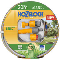 """Hozelock Watering Hose """"Select"""" 20 m with Starter Set"""