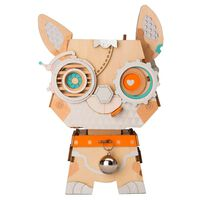 Robotime Kit di Costruzione Vaso Fiori Puppy