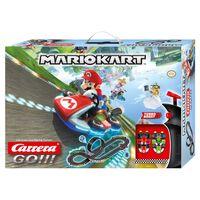 """Carrera Set GO Slot Car e Pista Elettrica Nintendo Mario Kart 8"""" 1:43"""