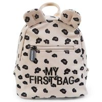 CHILDHOME Zaino per Bambini My First Bag in Tela Leopardata